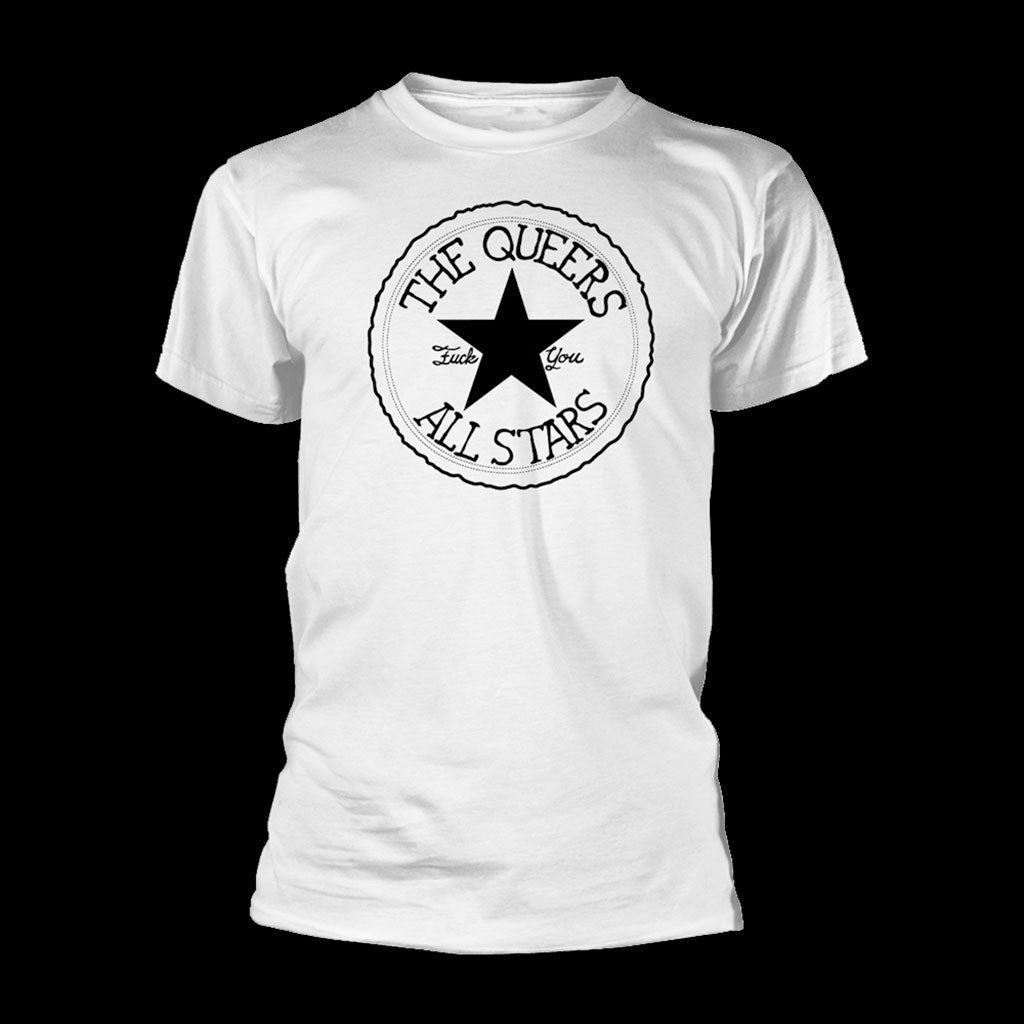 The Queers - All Stars (White) (T-Shirt)