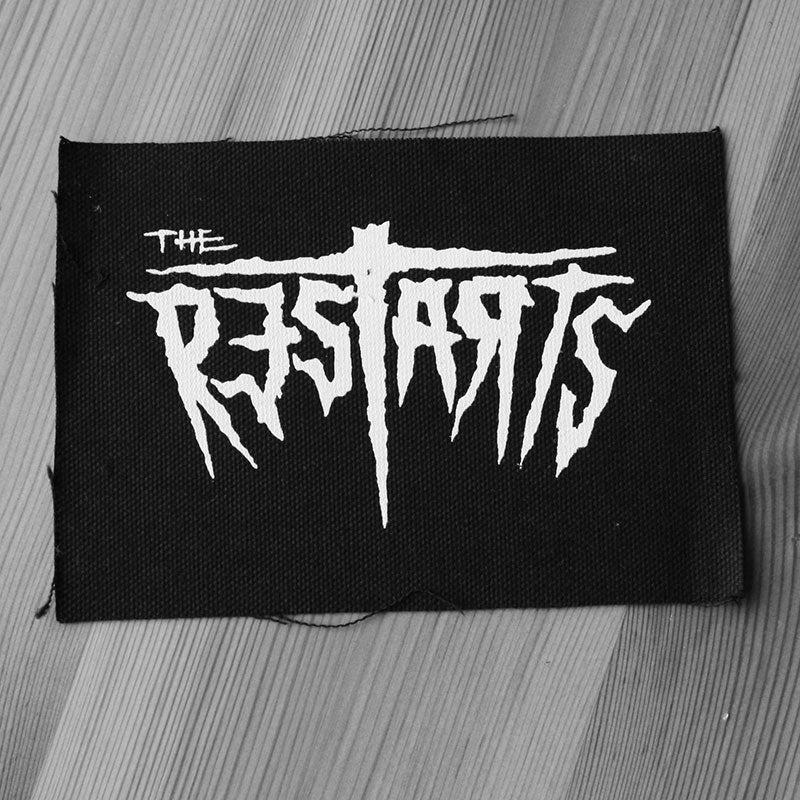 The Restarts - Logo (Printed Patch)