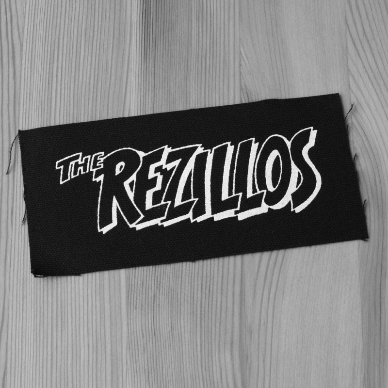 The Rezillos - White Logo (Printed Patch)