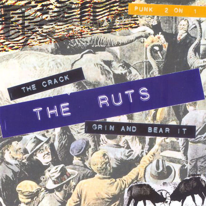 The Ruts - The Crack / Grin and Bear It (CD)
