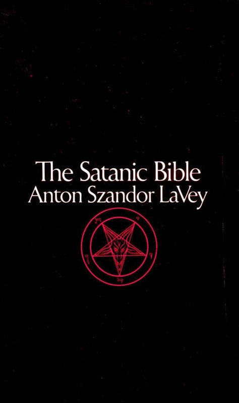 The Satanic Bible (Paperback Book)