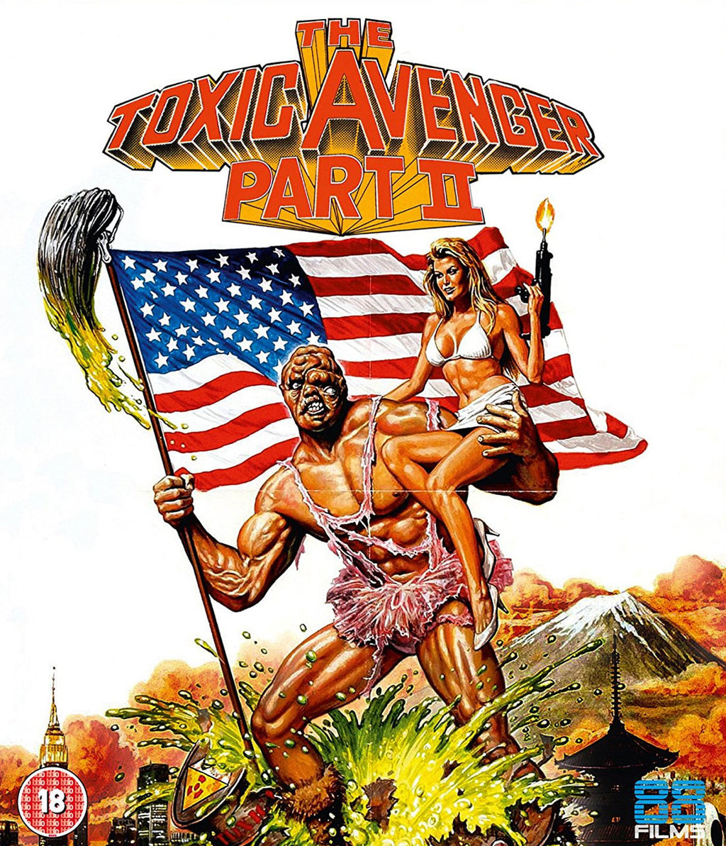 The Toxic Avenger Part II (1989) (Blu-ray)