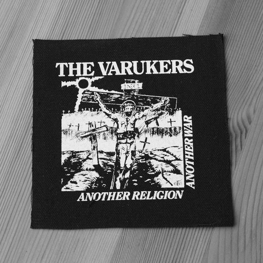 The Varukers - Another Religion Another War (Printed Patch)
