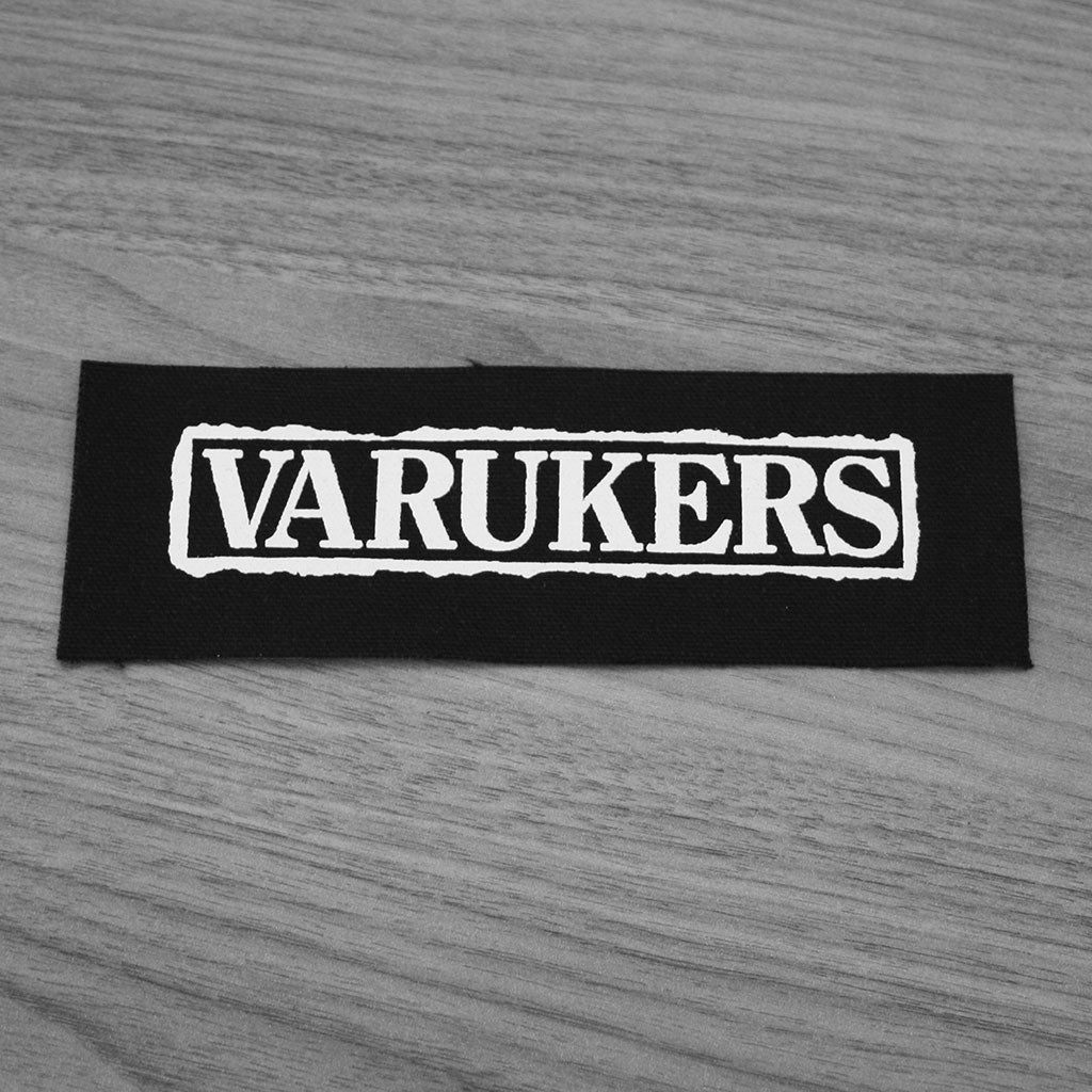 The Varukers - Logo (Printed Patch)