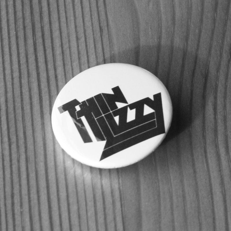 Thin Lizzy - Black Logo (Badge)