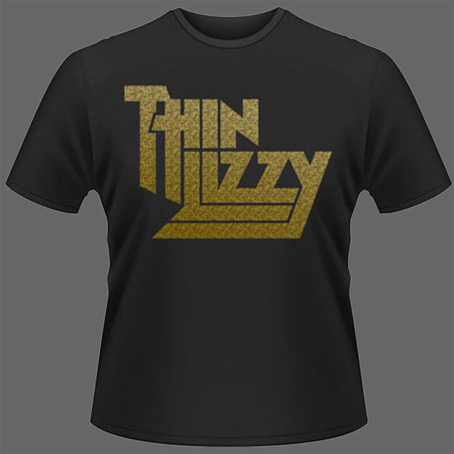Thin Lizzy - Gold Logo (T-Shirt)