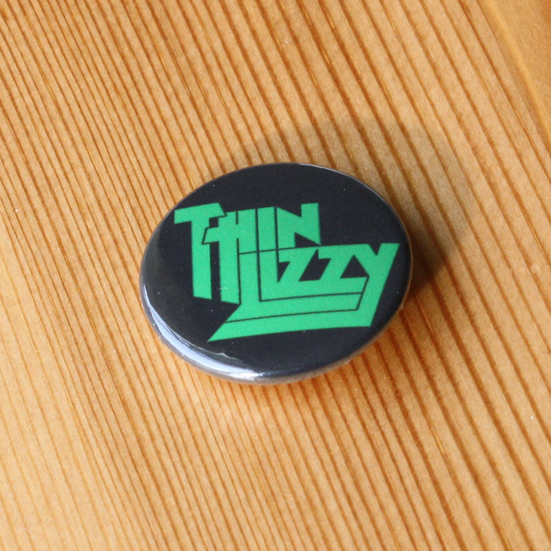 Thin Lizzy - Green Logo (Badge)
