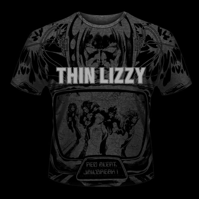 Thin Lizzy - Jailbreak (All Over Print) (T-Shirt)