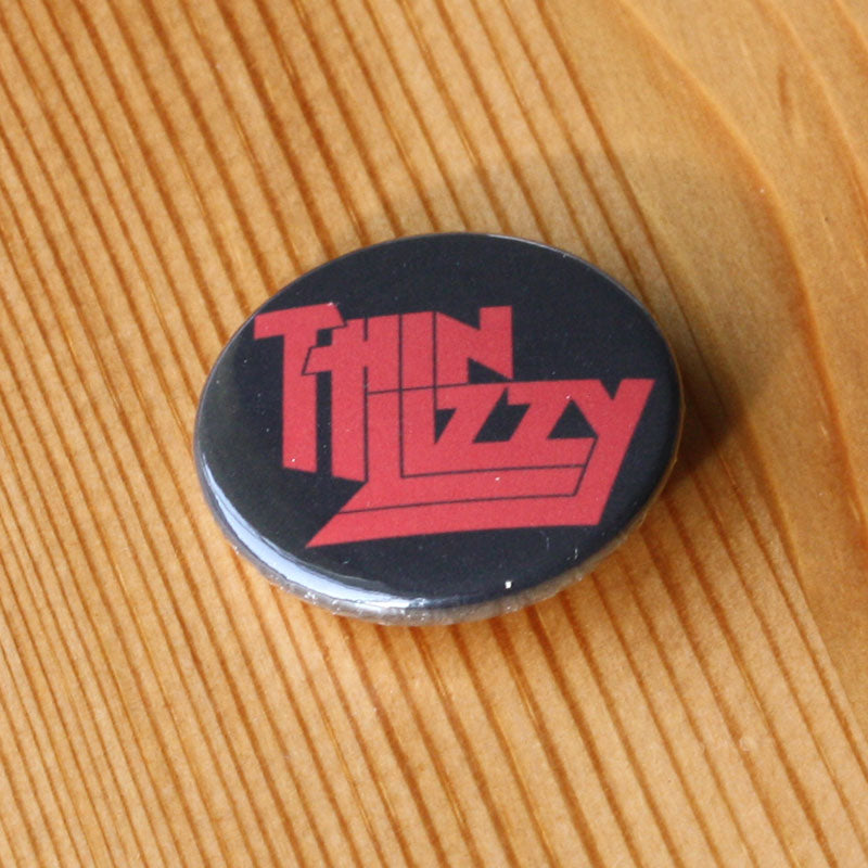 Thin Lizzy - Red Logo (Badge)