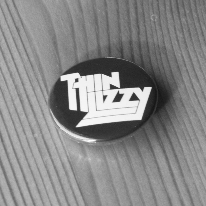 Thin Lizzy - White Logo (Badge)