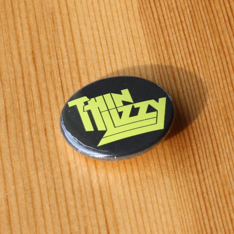 Thin Lizzy - Yellow Logo (Badge)