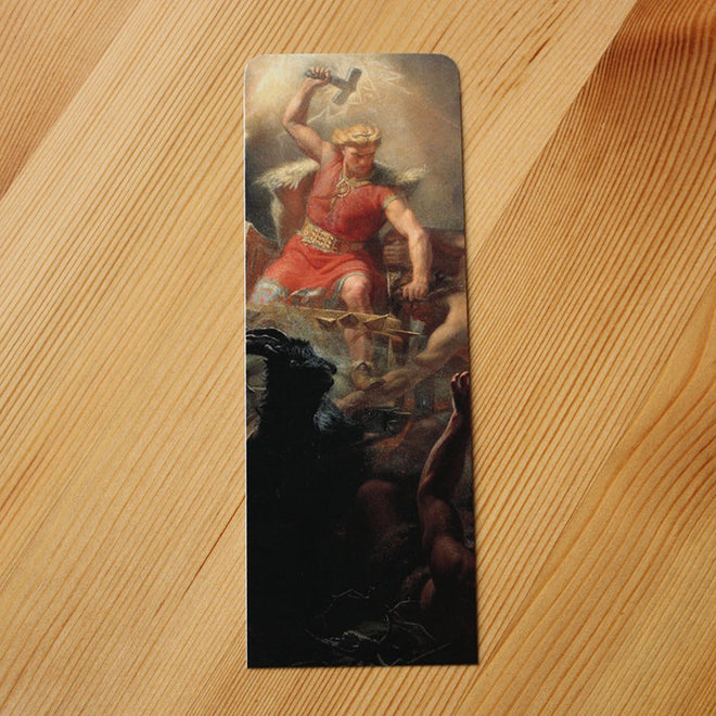 Thor's Fight with the Giants (Bookmark)