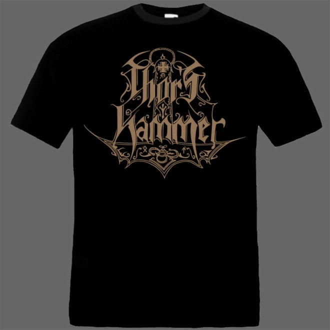 Thor's Hammer - Brown Logo (T-Shirt)