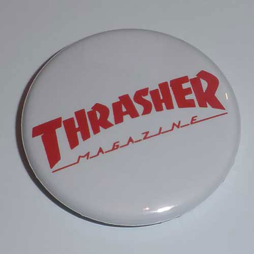 Thrasher Magazine Red Logo (Badge)