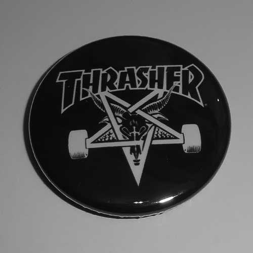 Thrasher Magazine Skategoat (Badge)