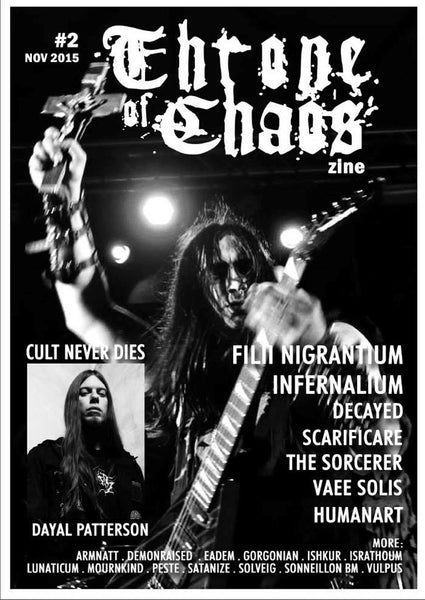 Throne of Chaos - Issue 2 (Zine)