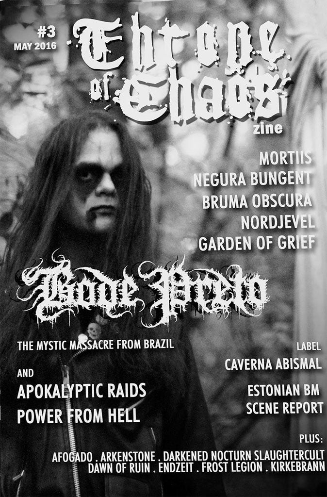 Throne of Chaos - Issue 3 (Zine)