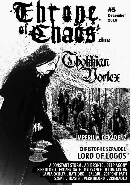 Throne of Chaos - Issue 5 (Zine)