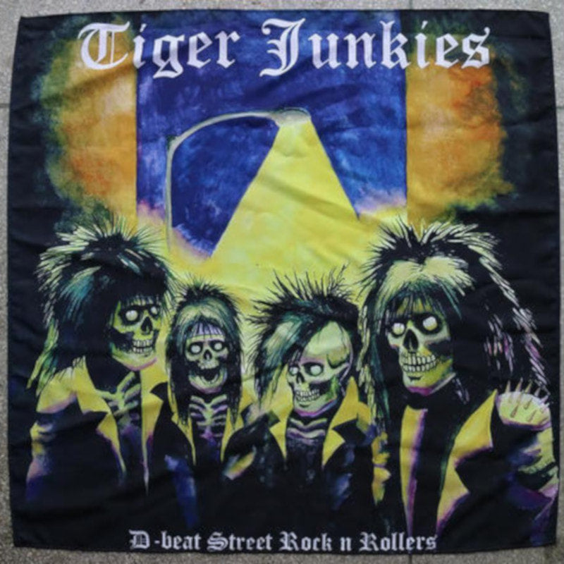 Tiger Junkies - D-Beat Street Rock n Rollers (Textile Poster)