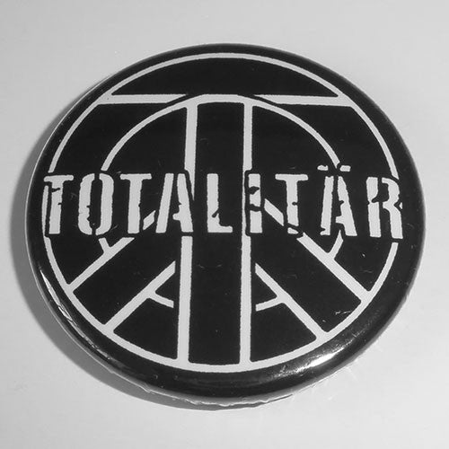 Totalitar - White Logo (Badge)