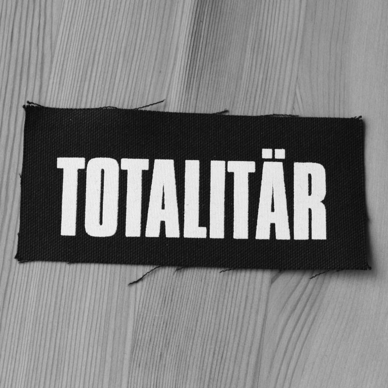 Totalitar - White Logo (Printed Patch)