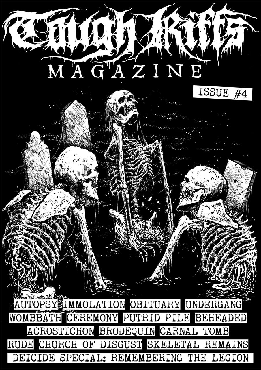 Tough Riffs - Issue 4 (Zine)