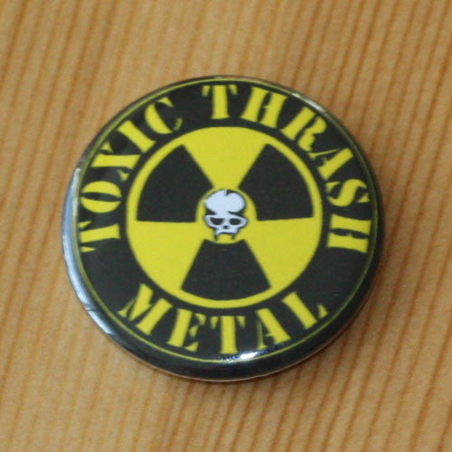 Toxic Holocaust - Toxic Thrash Metal (Badge)