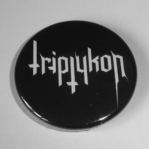Triptykon - White Logo (Badge)