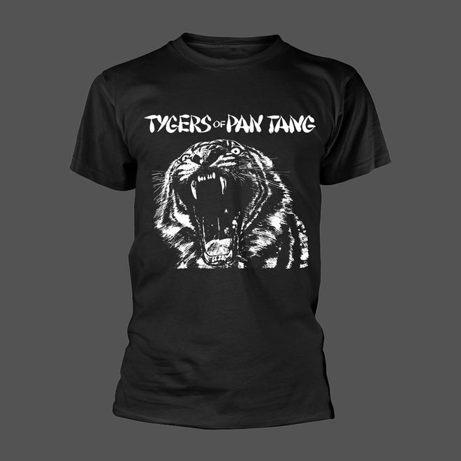 Tygers of Pan Tang - Wild Cat (Black & White) (T-Shirt)