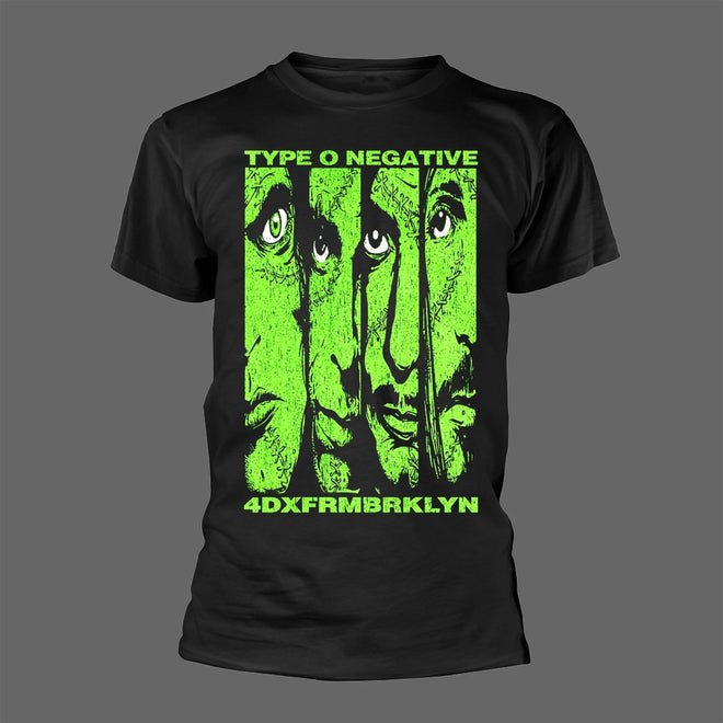 Type O Negative - Face / 4DXFRMBRKLYN (T-Shirt)
