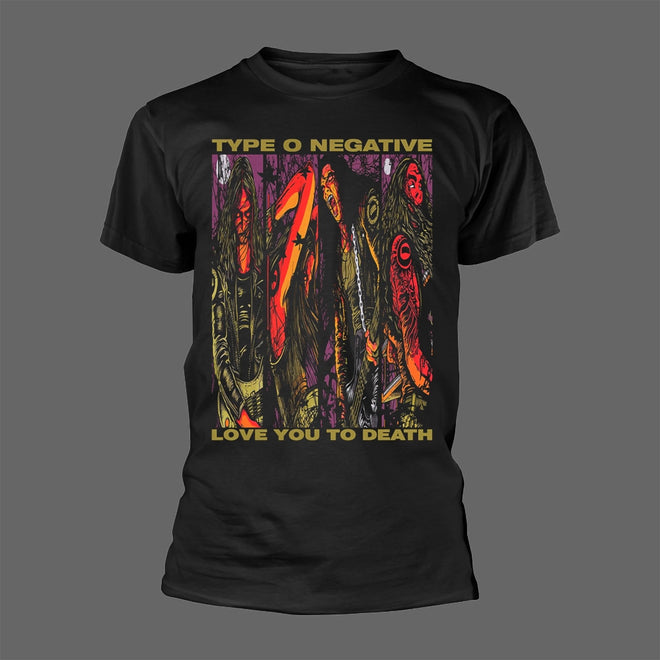 Type O Negative - Love You to Death (Comic) (T-Shirt)