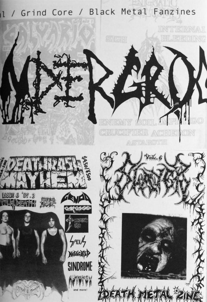 Ultimate Underground: Death Metal Zine Digital Collection (Zine)