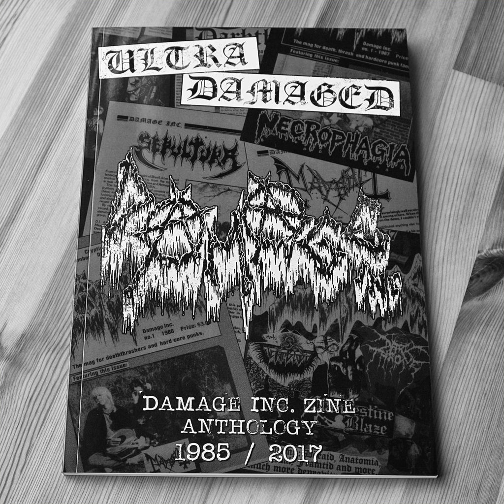Ultra Damaged: Damage Inc Zine Anthology 1985-2017 (Paperback Book)