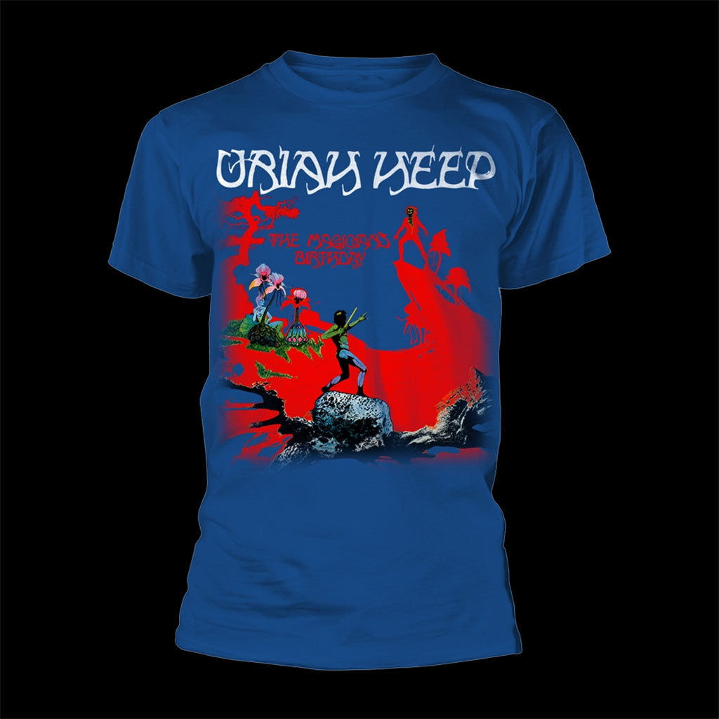 Uriah Heep - The Magician's Birthday (Blue) (T-Shirt)