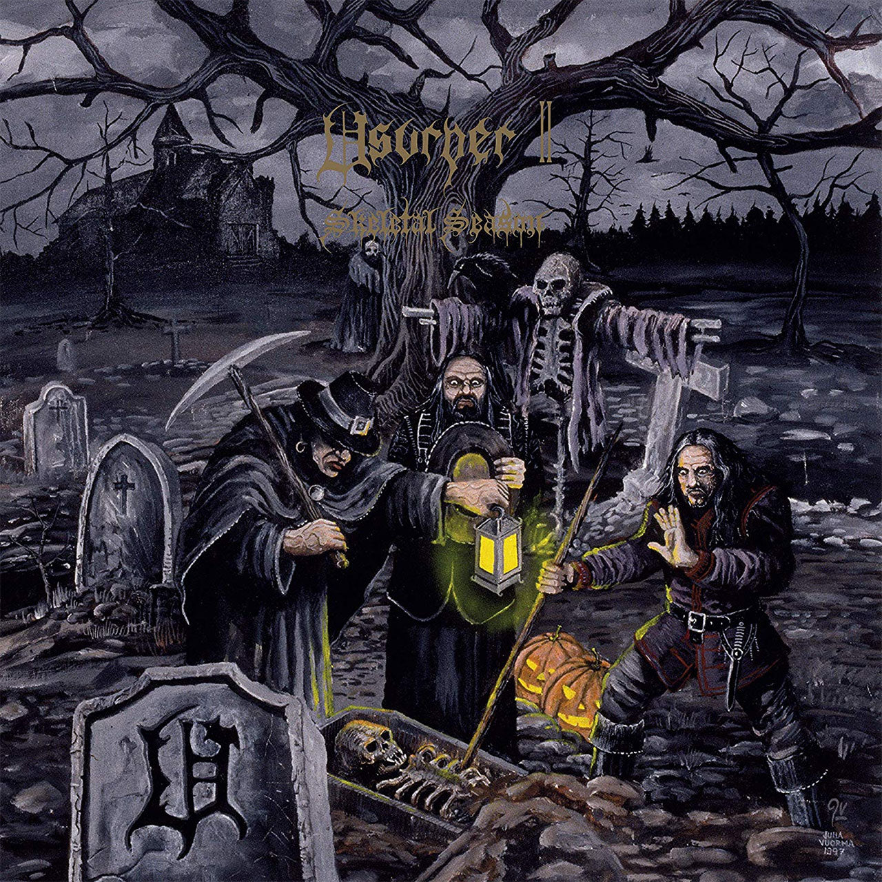 Usurper - Skeletal Season (2019 Reissue) (LP)