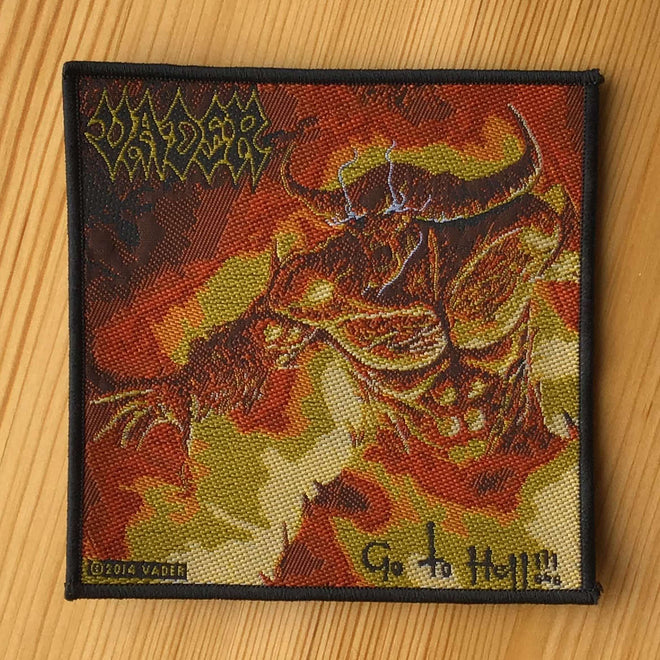 Vader - Go to Hell (Woven Patch)
