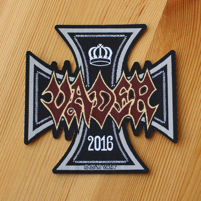 Vader - Iron Times (Woven Patch)