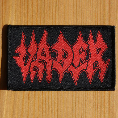 Vader - Red Logo (Woven Patch)