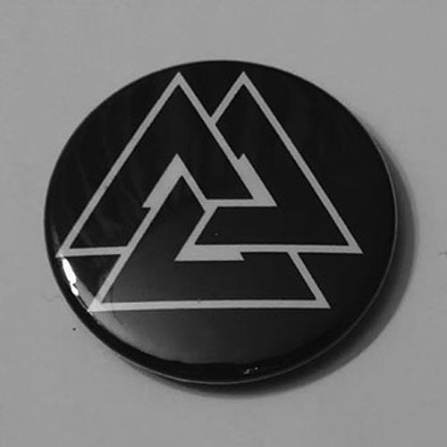 Valknut (Black) (Badge)