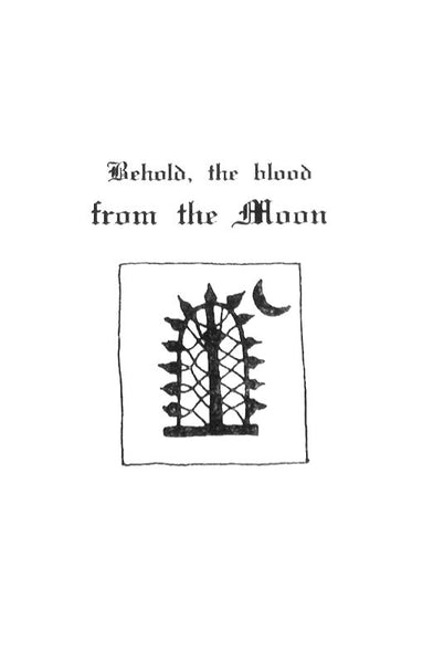 Various - Behold, the Blood from the Moon (Cassette)