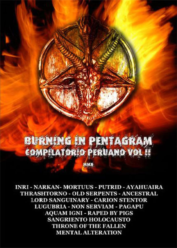 Various - Burning in Pentagram: Compilatorio Peruano Vol II (CD)
