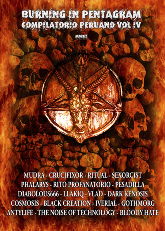 Various - Burning in Pentagram: Compilatorio Peruano Vol IV (CD)