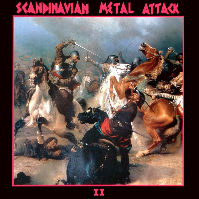 Various - Scandinavian Metal Attack II (CD)