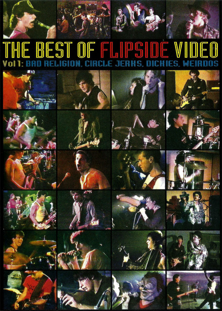 Various - The Best of Flipside Video Vol 1 (DVD)