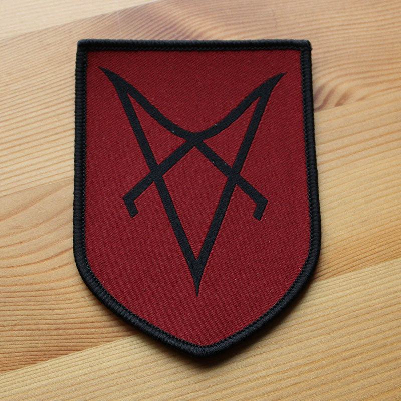 Vassafor - Sigil (Black on Red) (Woven Patch)