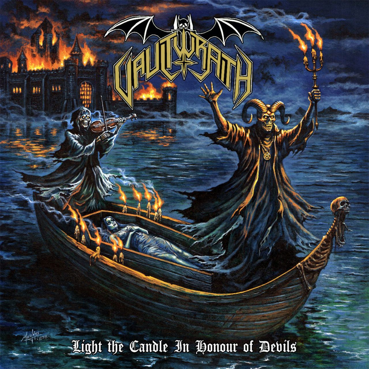Vaultwraith - Light the Candle In Honour of Devils (CD)