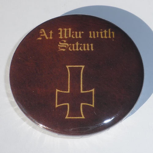 Venom - At War with Satan (Badge)