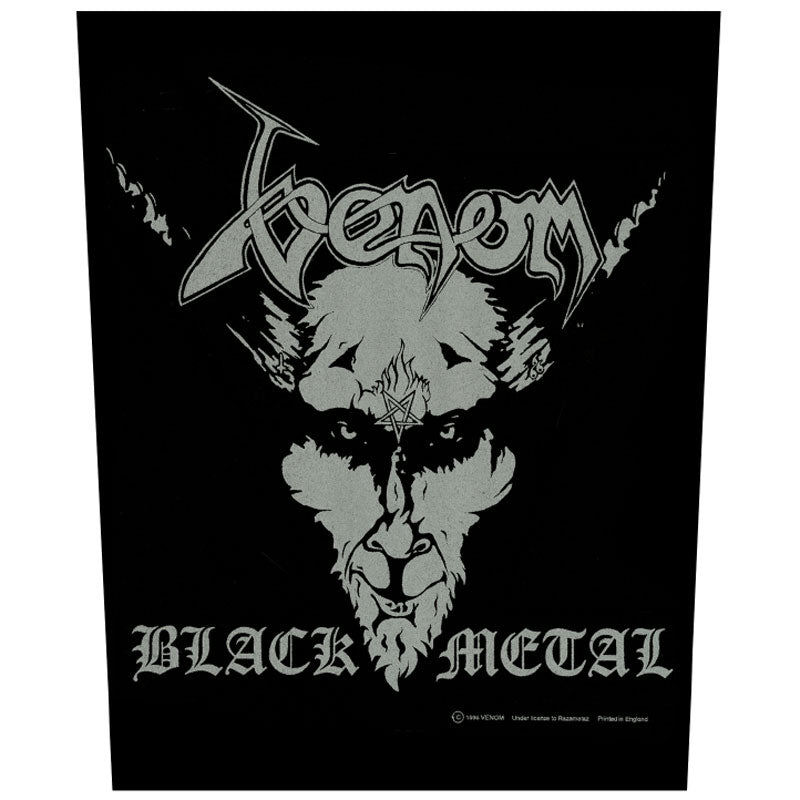 Venom - Black Metal (Backpatch)