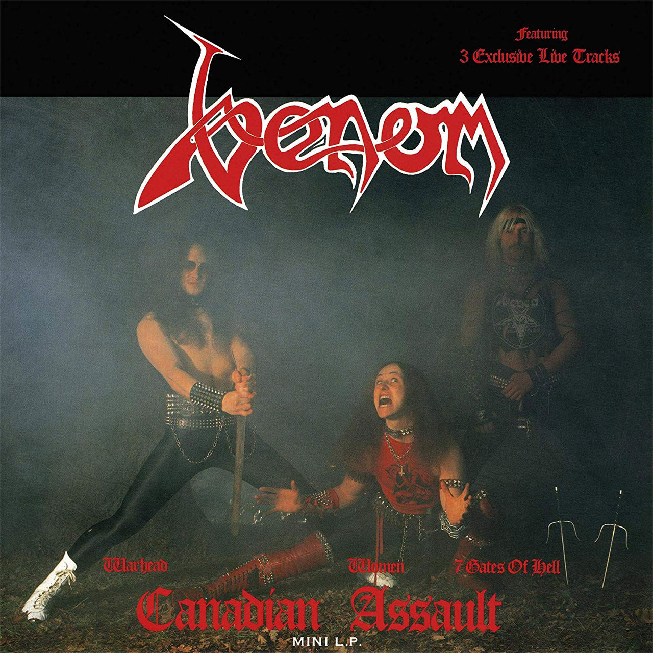 Venom - Canadian Assault (2017 Reissue) (LP)