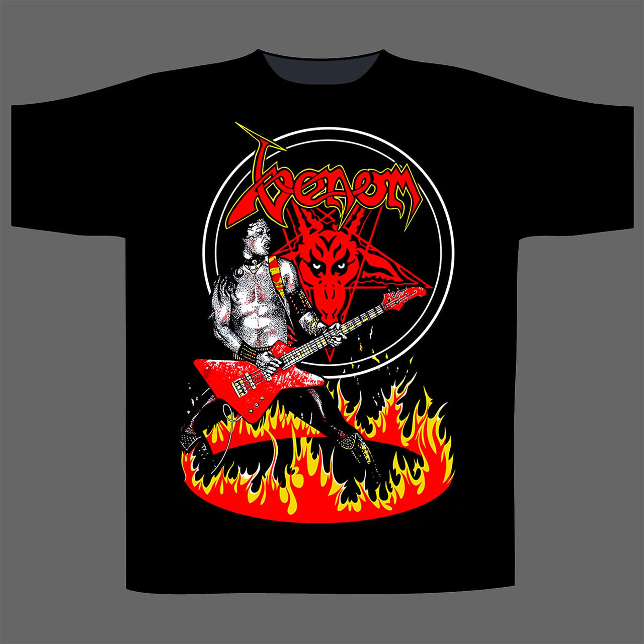 Venom - Cronos in Flames (T-Shirt)